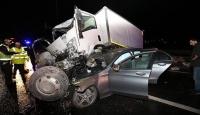 TEMde akıllara durgunluk veren kaza
