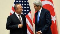 Dışişleri Bakanı Çavuşoğlu, mevkidaşı Kerry ile görüştü