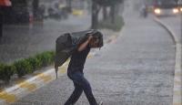4 İl için kuvvetli rüzgar ve yağış uyarısı