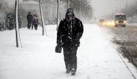 Doğuda en düşük sıcaklık -20 derece ile Karsta ölçüldü