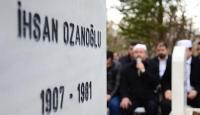 İhsan Ozanoğlu ölümünün 35. yılında anıldı