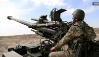 TSK, PYDnin Azezdeki hedeflerini vurdu