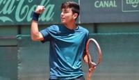 Milli tenisçi Cem Ertürk 2. oldu