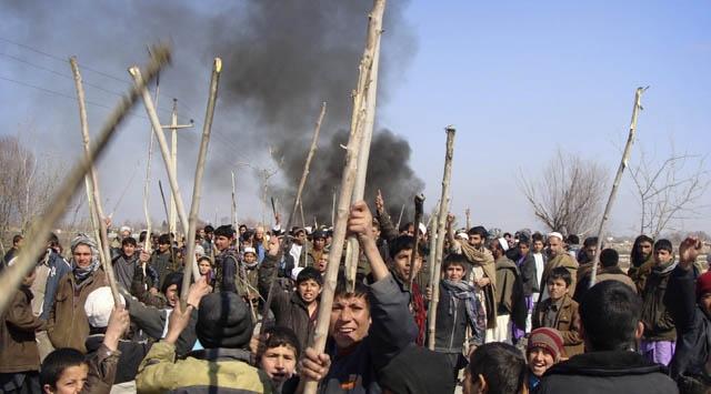 Afganistanda Öfke Dinmiyor