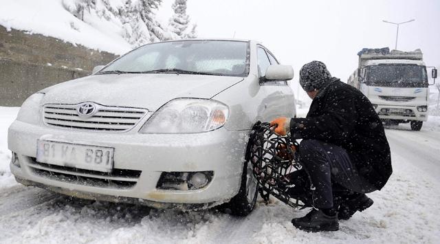 Kış Lastiği Takmayanlara Para Cezası