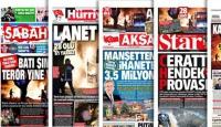 18 Şubat 2016 gazete manşetleri