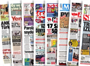 Gazete manşetleri (10.12.2016)