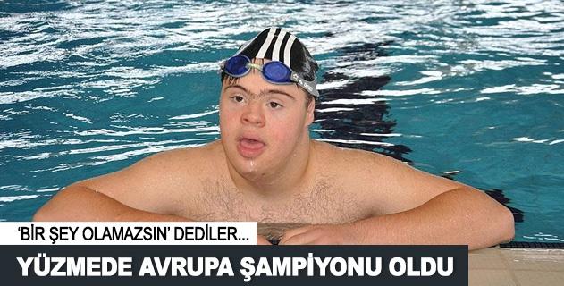 Mehmet Fatih Karahan Yüzme'de Avrupa Þampiyonu oldu