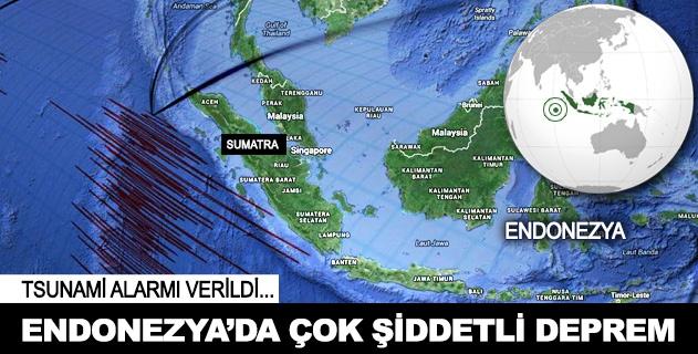 Endonezya'da çok þiddetli deprem 8.2