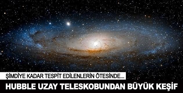 Hubble Uzay Teleskobunnun büyük uzay keþifi