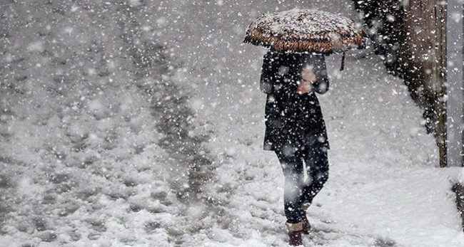 5 il için kar ve soğuk hava uyarısı