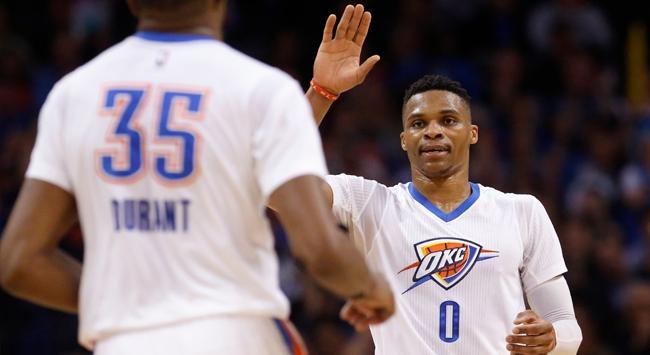 Thunderı Westbrook taşıdı