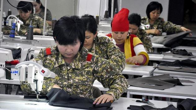 TSKdan Kırgızistan ordusuna destek