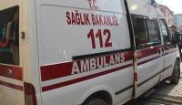 İzmirde trafik kazası: 1 ölü, 2 yaralı