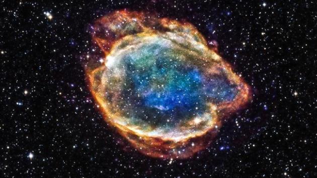 Süpernova patlamalarının dünyadaki izi