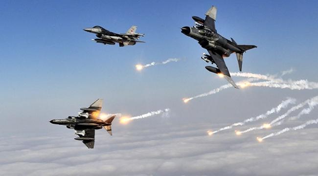TSKdan Irakın kuzeyine hava harekatı: 16 hedef imha edildi