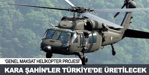 BlackHawk'lar Türkiye'de üretilecek