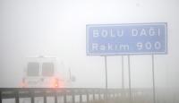 Bolu Dağında yoğun sis ulaşımı aksatıyor