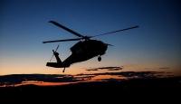 Avustralya'da helikopterin ışığı yangın çıkardı