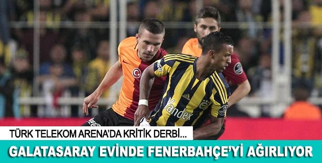 Galatasaray - Fenerbahçe derbisine doðru