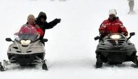 Bakanların Erciyes'te Jet Ski Keyfi