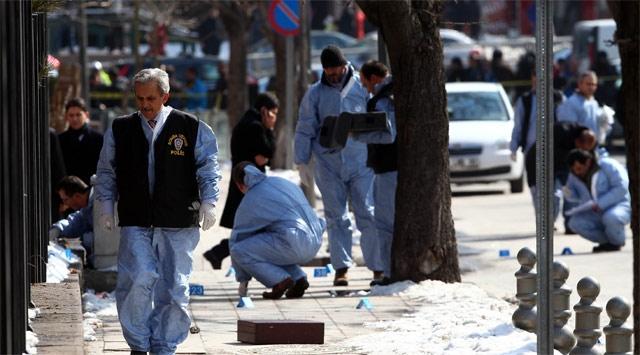 Ankara'yı Bomba Korku