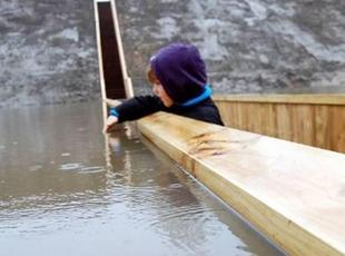 Su Seviyesi Altından Geçiş: Musa Köprüsü