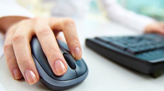 Mouse parmağın dokusunu bozuyor