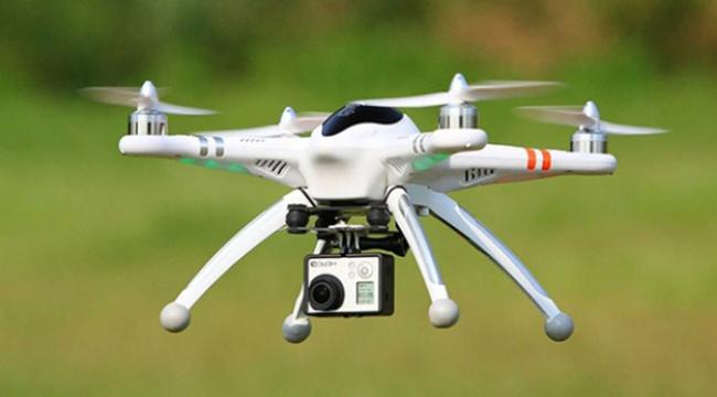 İzinsiz uçurulan drone düşürüldü