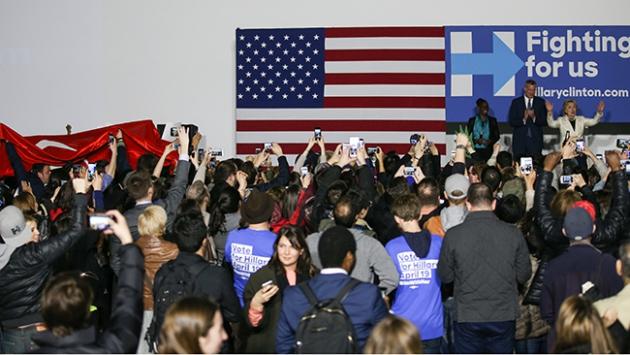 ABDdeki Türklerin desteği Clintona