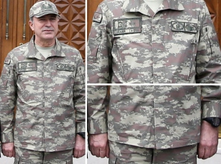 TSK'da uydudan görünmeyen üniforma