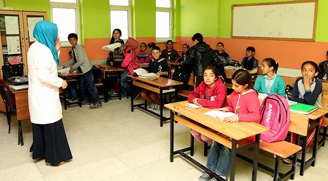 Terör saldırısı eğitime engel olamadı
