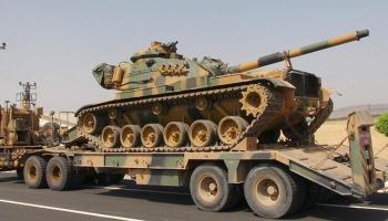 Kilis'e askeri sevkiyat yapýldý