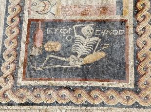 Hatayda ilginç mozaik