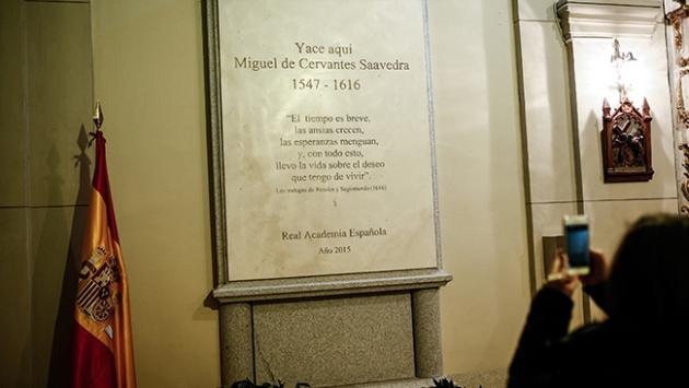 Ünlü yazar Cervantesin mezarı turizme açıldı