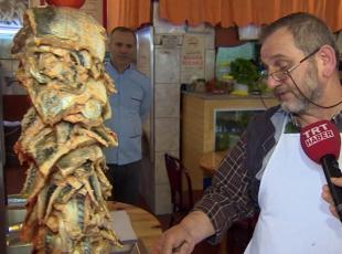 Trabzon usulü 'balık döner'