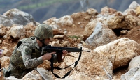 PKKlı teröristlerin inleri yerle bir edildi