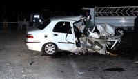 Konyada kaza: 1 ölü, 5 yaralı