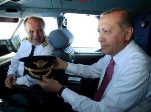 Erdoğan Pilotlar Gününü kutladı
