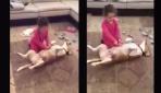 Köpeğin rol yeteneğine bakın!