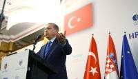 Cumhurbaşkanı Erdoğan Hırvatistan-Türkiye İş Forumunda konuştu