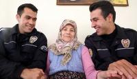 Polisten huzurevine TOMAlı ziyaret
