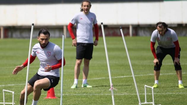 Samsunsporda Balıkesirspor maçı hazırlıkları