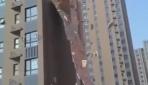 Bina kağıt gibi yırtıldı