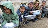 Afgan çocukların yarısı açlık tehdidi altında