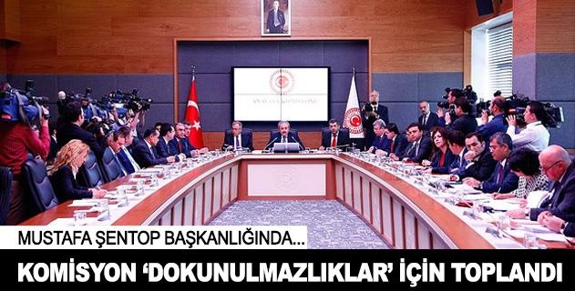 Komisyon dokunulmazlıklar için toplandı