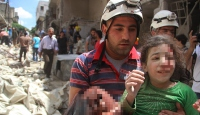 Rus savaş uçakları Halepi bombaladı: 17 ölü