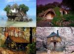 Doğanın armağanı evler