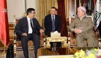 Kalkınma Bakanı Yılmaz, Barzani ile bir araya geldi