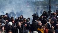 Fransadaki çalışma yasası protestosu